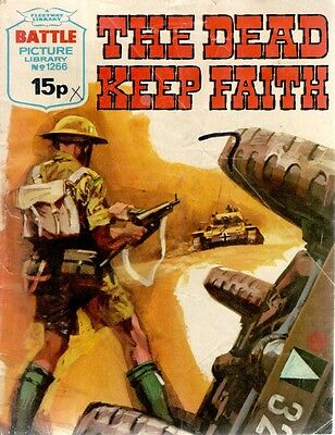 1979 No 1266  W33469  Battle Picture Library  THE DEAD KEEP FAITH
