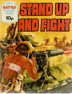 1976 No 1031 33458 Battle Picture Library  STAND UP AND FIGHT