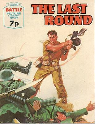 1974 No 790 33444 Battle Picture Library  THE LAST ROUND