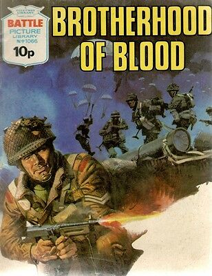 1977 No 1066 R33463  Battle Picture Library  BROTHERHOOD OF BLOOD