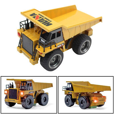 2.4G 6CH Alloy Dump Truck Construction Engineering Vehicle Remote Control 1:18