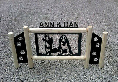 Dog Signs - Dogs  - Basset Hounds