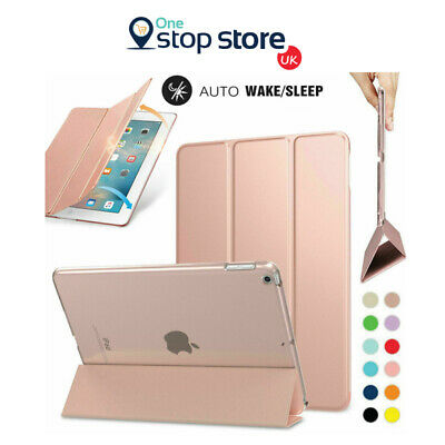 Ultra Thin PU Leather Smart Case Cover Stand Apple iPad Pro 9.7 2017 2018 Cover
