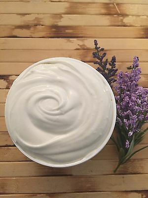 Triple Whipped Organic Unrefined Shea Butter Body Moisturizer- Lavender 16 Oz