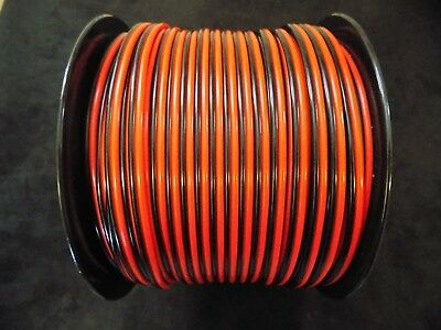 12 Gauge Ofc 50 Ft 100% Copper Power Ground Zip Wire Cable Stranded Speaker Awg