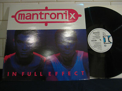 MANTRONIX In Full Effect UK 10 Records LP (DIX 74) NM Condition Classic Hip Hop