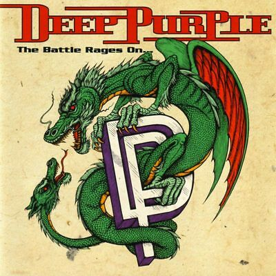DEEP PURPLE - The Battle Rages On... HARD ROCK