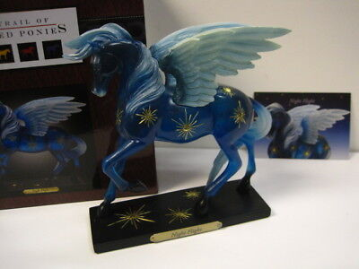Trail of Painted Ponies NIGHT FLIGHT, 1E/143,Low # NIB,New Release,Winged Horse