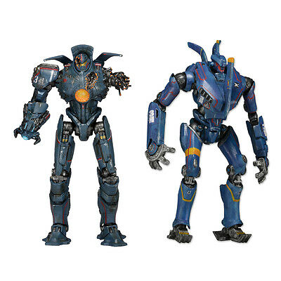 "PACIFIC RIM - 7"" Series 5 Jaeger Action Figure Set (2) by NECA #NEW"