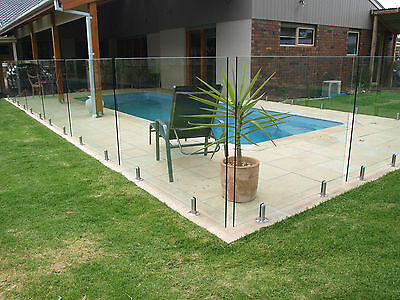 "GLASS POOL FENCING PANELS 1800mm x 1200mmx 12mm "" SALE"""