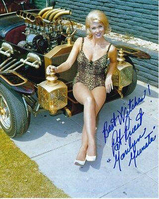 Pat Priest Signed Autographed 8x10 The Munsters Marilyn Photograph