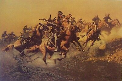 "Frank Mccarthy Caa ""under Hostile Fire"" Ltd Ed - List Price $250./ Special Offer"