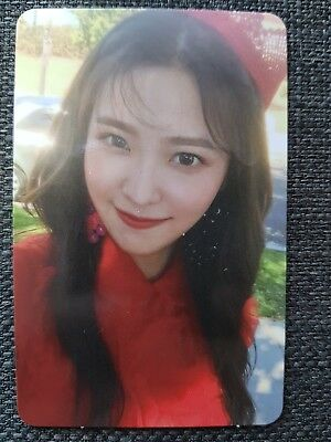 RED VELVET YERI #2 Official PHOTOCARD PEEK-A-BOO 2nd Album Perfect Velvet 예리
