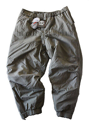 Military Mens Army ECWCS Extreme Cold Weather Insulated Ski Snow Pants Large
