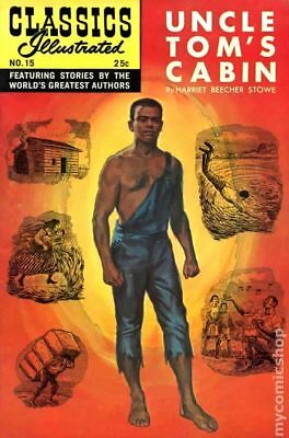 Classics Illustrated 015 Uncle Tom's Cabin #20 1970 VG+ 4.5 Stock Image