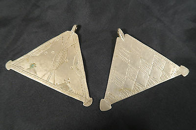 2 alte Metall Amulette C Anhänger Fulani Old Metal Charms Afrozip