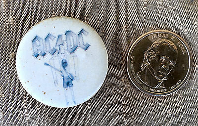 AC/DC Flick of the Switch Rare Badge Lapel Pin