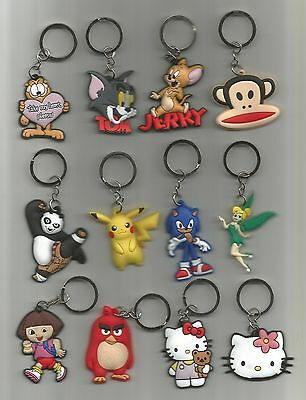 Key Chain--Cartoon (Choice) PVC