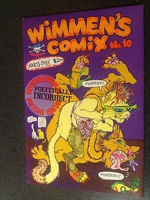Wimmen's Comix #10 (1985, Last Gasp), by Trina and others. VF/NM Condition.