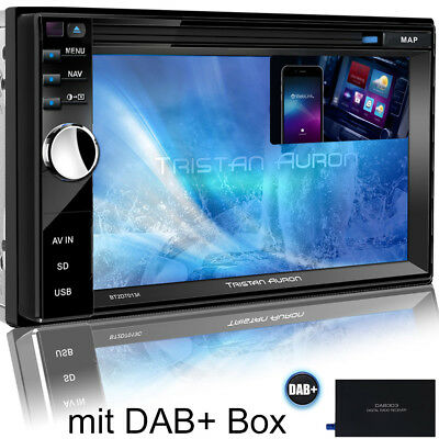 Autoradio mit DAB+ Navi Navigation Bluetooth TOUCHSCREEN DVD USB GPS MP3 2DIN CD