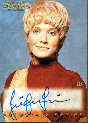Star Trek Voyager Profiles Autograph Card A10 Jennifer Lien As Kes