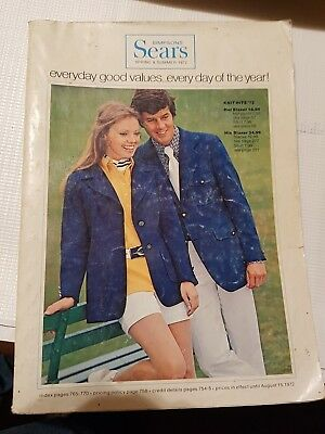 Simpson Sears 1972 Spring And Summer Store Catalog , 770 Pages