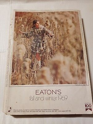 Vintage Eaton's 1969 Fall Winter Store Catalog , 796 Pages
