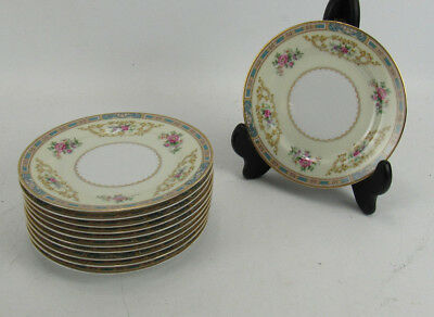 11 Noritake China Colby Blue 5032 Bread & Butter Plates
