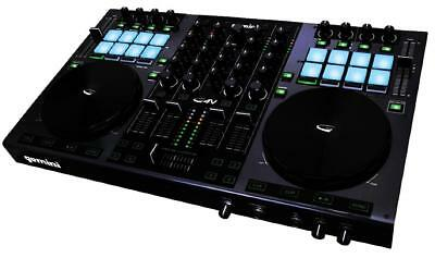 Gemini G4V 4-Channel MIDI Virtual USB DJ Controller Audio IO Touch Sensitive