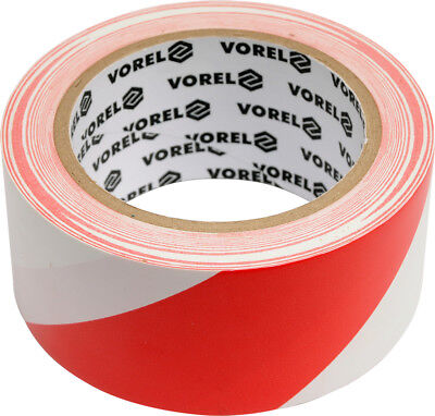 Self-Adhesive Warning Tape Caution kennband Red/White Barrier