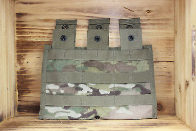 New GI Military Army Multicam OCP Triple Magazine 30 Rd MOLLE Pouch