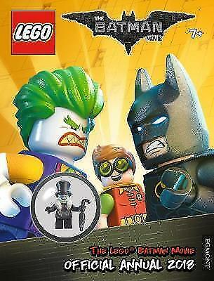 The LEGO (R) BATMAN MOVIE: Official Annual 2018 by Egmont HB 9781405287623 NEW