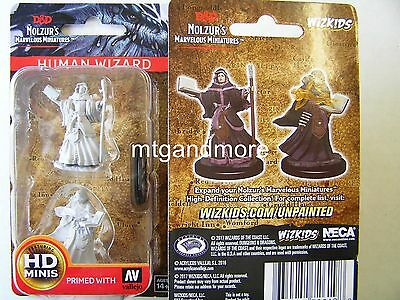 Dungeons & Dragons Nolzur's Marvelous - Unpainted Miniatures Human Female Wizard
