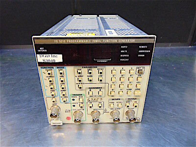 Tektronics FG 5010 Programmable 20MHz Function Generator - Tested - S3040