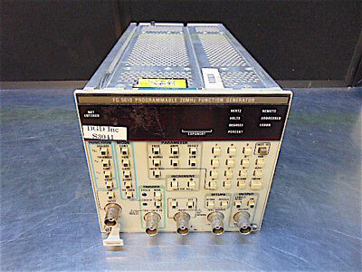 Tektronics FG 5010 Programmable 20MHz Function Generator - Tested - S3041