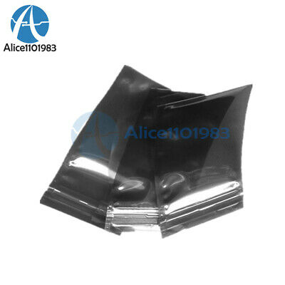 50PCS 60x90mm 6x9cm Anti Static Bag Plastic Zip Lock Shielding Holders Packaging