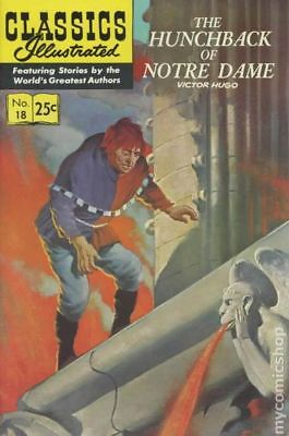 Classics Illustrated 018 Hunchback of Notre Dame #18 1970 VG+ 4.5 Stock Image