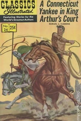 Classics Illustrated 024 A Yankee in King Arthur's Court #15 1971 VG 4.0