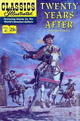 Classics Illustrated 041 Twenty Years After #7 1970 VF Stock Image