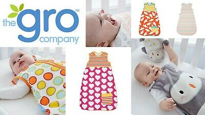Grobag Baby Girl Boy Sleeping Bags Tog 2.5 Cool Rooms 16-20 deg C SAVE $30.00!