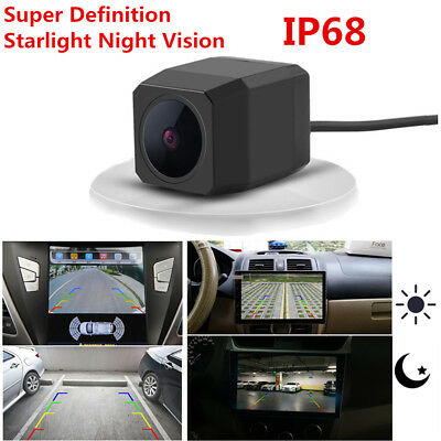 HD 170° Wide Angle Starlight Night Vision Rear View Camera Reverse Camera IP68