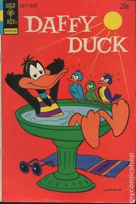Daffy Duck (Dell/Gold Key) #83 1973 VG- 3.5 Stock Image Low Grade