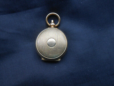 Coin Holder Antique Brass Embossed