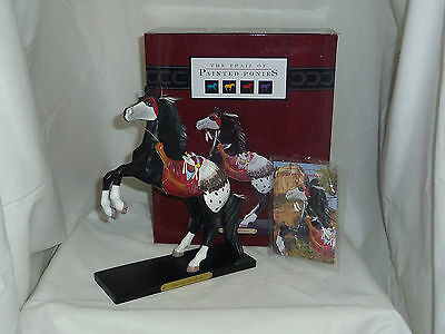 Warrior Brother Enesco Trail of Painted Ponies rearing horse figurine 4020478