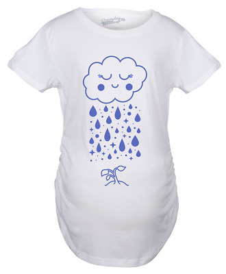 4d53a2d9 Maternity Cloud Seedling Pregnancy Tshirt Cute Nature Outdoors Tee For Baby  Bump