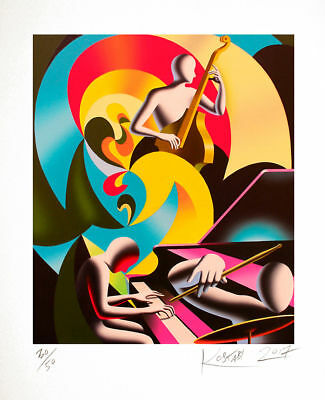 Mark Kostabi 27.11.1960 Whittier (USA)  Suono visibile   Grafica pigmentata