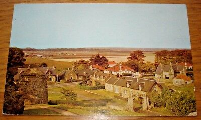 Dirleton Village From Castle. Posted in 1981