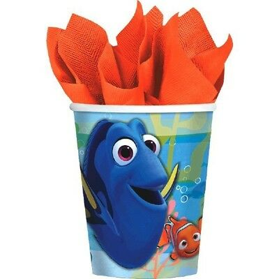 Finding Dory Birthday Party Paper Cups 9 oz 8 Ct Hot Cold