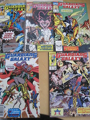 GUARDIANS of the GALAXY #s 1,2,3,4,5,6,7,8,9,10-15 + 21. CLASSIC 1st 1990 SERIES