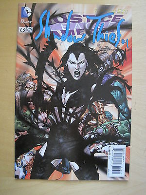 JUSTICE LEAGUE of AMERICA 7.3 / SHADOW THIEF # 1.1st PRINT. THE NEW 52. DC. 2013